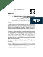 1998 - Quijano y Navarro - Un Modelo Integrado de La Motivación en El Trabajo (RPTO)