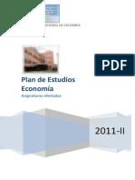 Economia Catlogo de Asignaturas