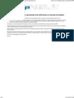 Desigualdade de Gênero é Reproduzida Entre Deficientes No Mercado de Trabalho _ Www.radioagencianp.com
