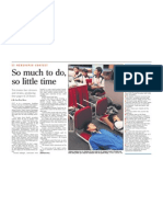 So much to do, so little time, 20 Nov 2008, Straits Times