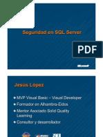 Seguridad SQL Server