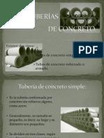 Tipos de Tuberias de concreto