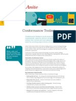 Conformance Testing Fact Sheet