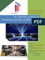 El Uso de La Nueva Tecnologia en La Industria