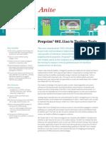 Anite Propsim80211 TestingTools ProductSheet