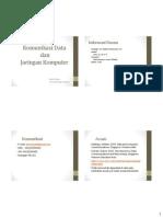 Materi 1-2 Jaringan dan Komunikasi Data