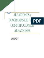Aleaciones y Diagramas de Fases