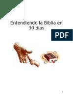 Aprenda La Biblia en 30 Dias