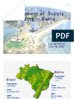 Development of Supply Chains in Bahia