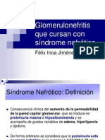 Glomerulonefritis Sd Nefrotico