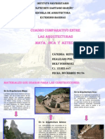 Cuadro Entre Maya, Inca Y Azteca