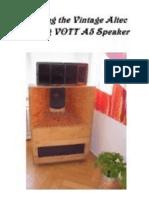 VOTT A5 Speaker 1/2