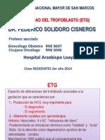 Enfermedad Del Trofoblasto Residentes 2014