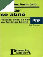 30 años de teología en latinoamerica