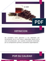 Exposición Diapositivas Vino