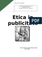etica publicitatii