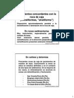 3ª y 4ª Clase - Morfología de Los Cuerpos Minerales