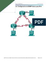 7.2.2.5 Lab - Configuring Basic EIGRP for IPv4