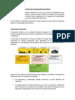 Sistema de Transmisión Eléctrica (Transporte)