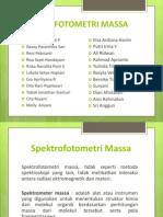 Spektrofotometri Massa