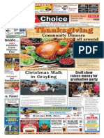 Weekly Choice - November 20, 2014