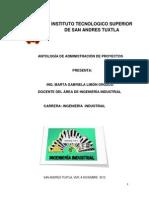 Antología de Admon. de Proyectospara Alumnos