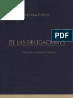 Manual De Las Obligaciones - Rene Ramos Pazos