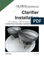 Clarifier Installation