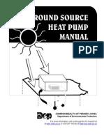Ground source heat pump manual