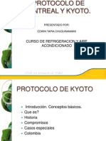 Presentacion Protocolo Montreal y Kyoto