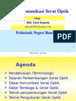 Sistem Komunikasi Serat Optik(FARID)