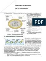 1. Quimioterapia antimicrobiana