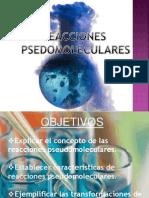 Reacciones Pseudomoleculares
