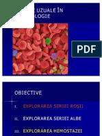 analizele uzulae in hematologie