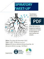 #BTSWinter Respiratory Tweet-Up