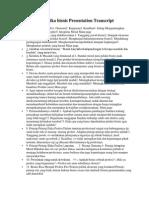 Prinsip prinsip etika bisnis Presentation Transcript.docx