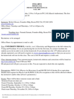 UT Dallas Syllabus for phys3342.001.07f taught by Robert Glosser (glosser)