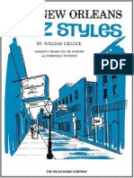 William Gillock New Orleans Jazz Styles Later Intermediate Level Piano Music Sheets 2006