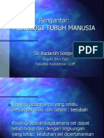 Pengantar Fisiologi Tubuh Manusia