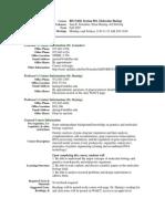 UT Dallas Syllabus for biol5420.001.07f taught by Jeff De Jong (dejong)