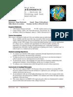 UT Dallas Syllabus for rhet1101.044.07f taught by Thomas Mackenzie (tam036000)