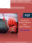 Secrets to Staying Positive WithVedicTradition