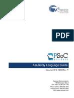 Assembler Psoc