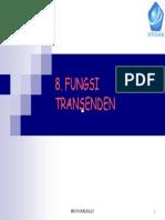 08 Fungsi Transenden