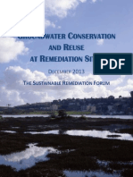 Groundwater Conservation and Reuse_SURF_Dec 2013