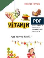 Vitamin Dan Metabolismenya