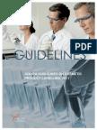 COLIPA Labelling Guidance Dec 2011