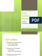 Intro to Event Management