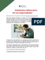 Libro (10 Mandamientos Chinos Para Ser Un Emprendedor)