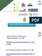 PPT 6 Organos Autonomos I